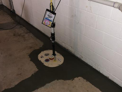 Basement Waterproofing - Frederick,MD - After Photo