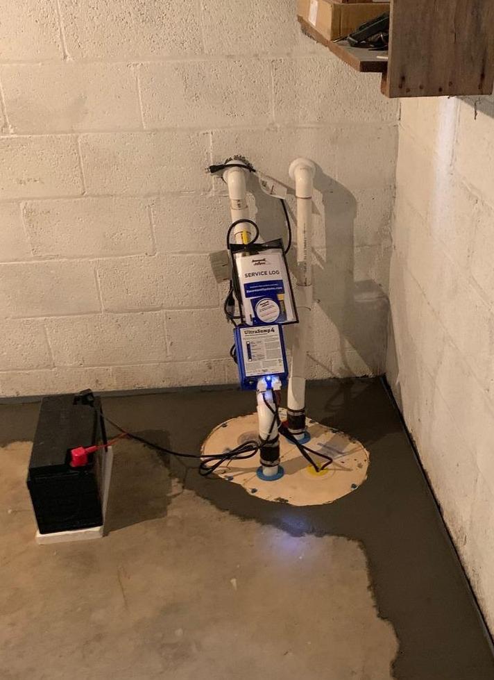 Basement Waterproofing - Rockville,MD - After Photo