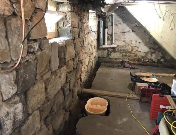 Derwood, MD Waterproofing - Before Photo