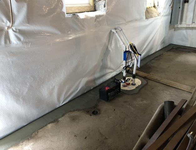 Derwood, MD Waterproofing - After Photo