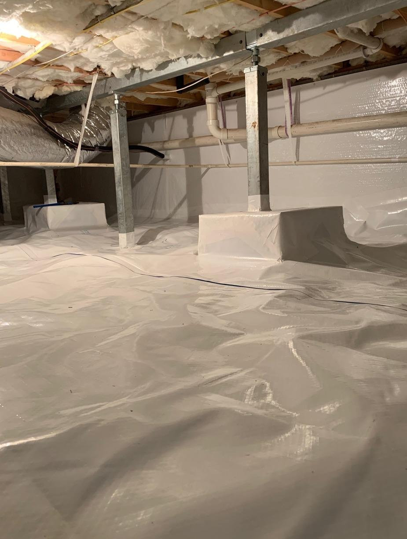 Crawlspace Encapsulation & Smart Jacks - Huddleston, VA - After Photo