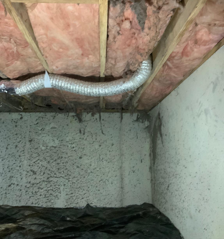 Shenandoah, VA Crawl Space Encapsulation & Sagging Floor Repair - Before Photo