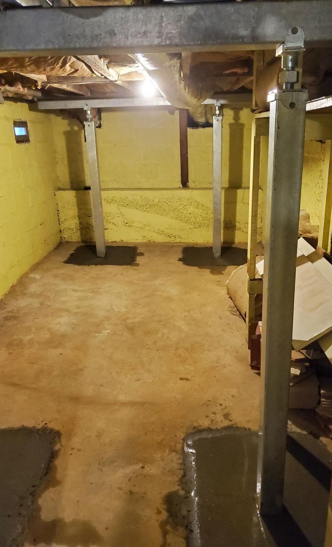 Middletown, MD Sagging Floor Repair - After Photo