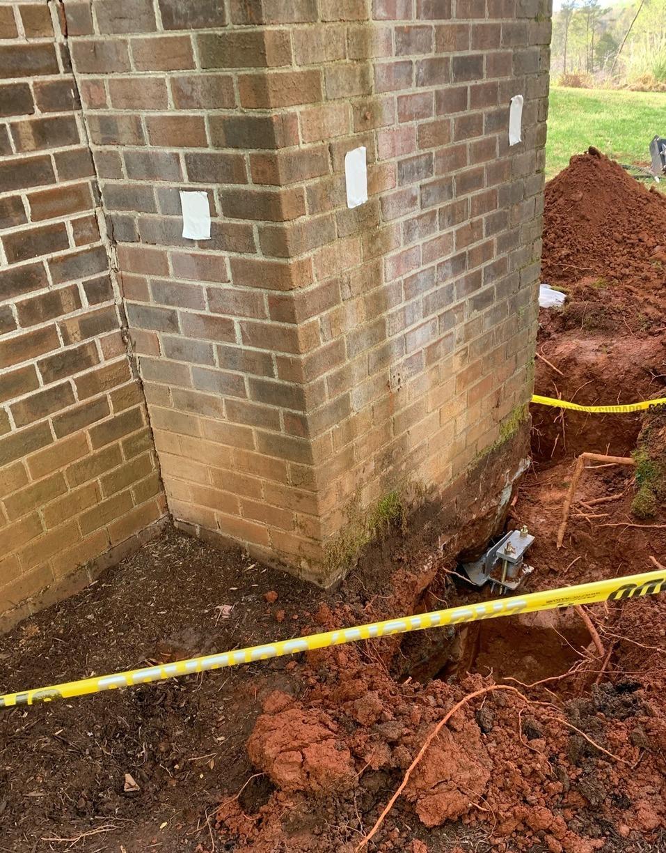 Earlysville, VA Foundation Settlement - After Photo