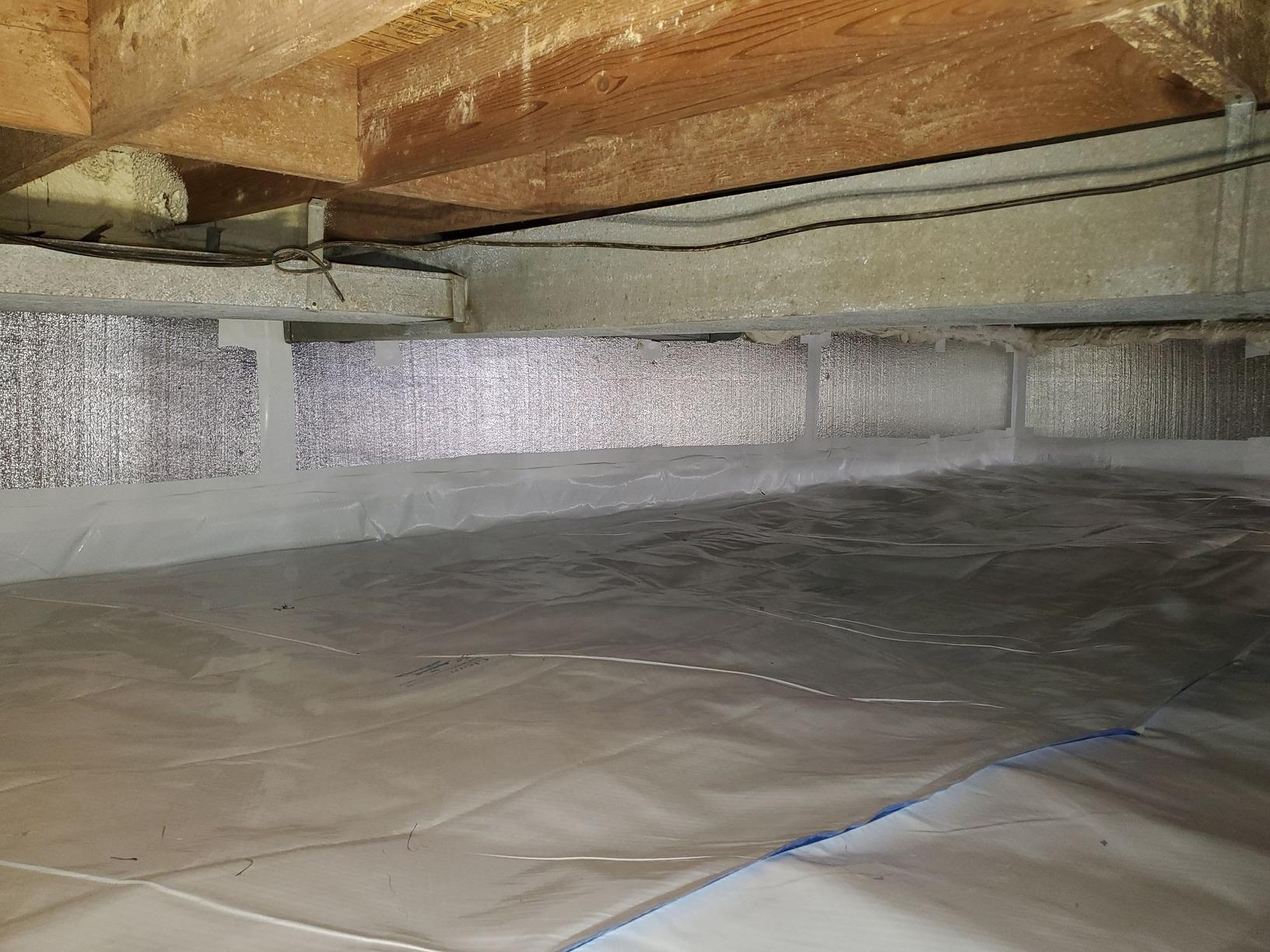 Rockville, MD Crawl Space & Sagging Floors - After Photo