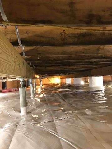 Ruckersville, VA Crawlspace and Foundation Repair