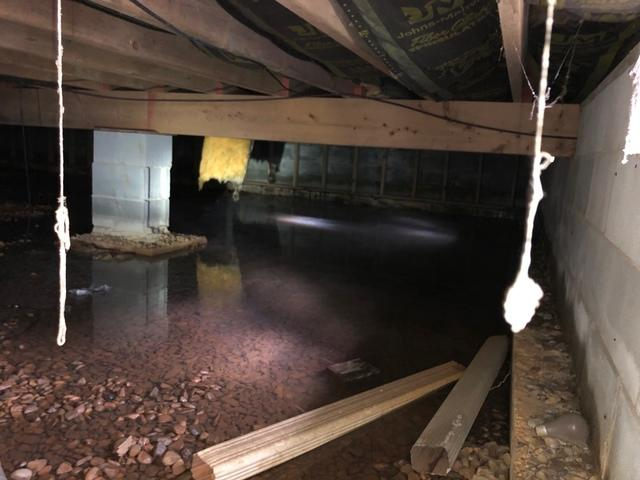Shenandoah, VA Crawlspace Encapsulation and Foundation Support