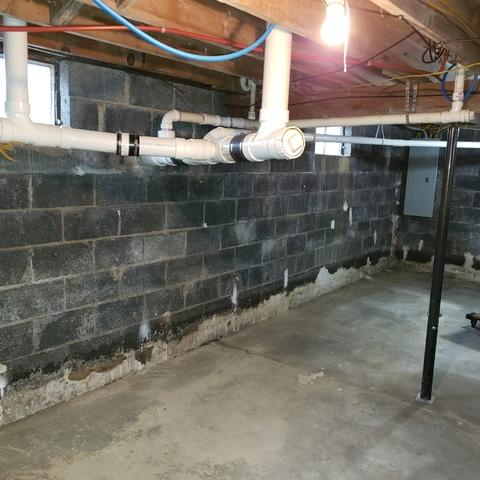 Wytheville, VA basement waterproofing