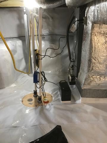 Blairs, VA Farmhouse Crawlspace Encapsulation