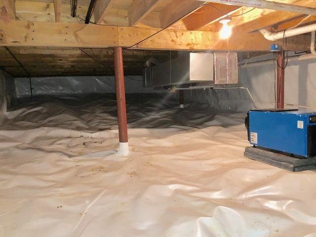 Forest, VA Crawl Space Encapsulation