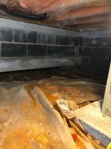 Staunton, VA Crawl Space Waterproofing