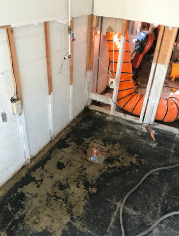 Gladys, VA Basement Waterproofing