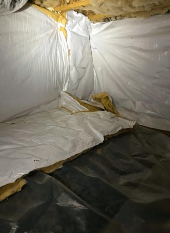 Winchester, VA Crawlspace Waterproofing