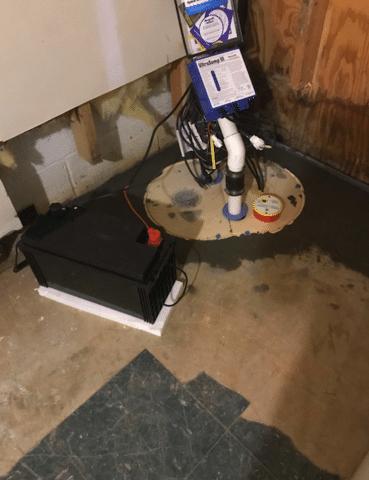 Roseland, VA Basement Water Proofing