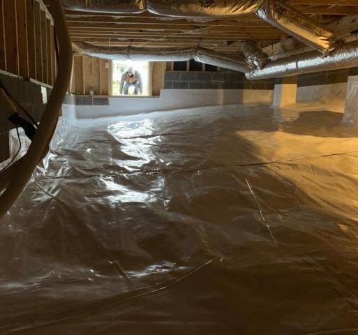 Staunton,VA Crawlspace Encapsulation