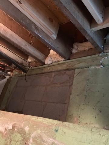 Appomattox, VA Crawlspace Repair