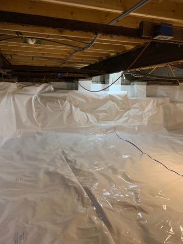 Boones Mill, VA Crawl Space Encapsulation