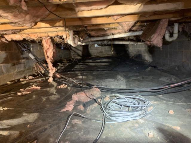 Mount Crawford, VA Crawlspace Encapsulation