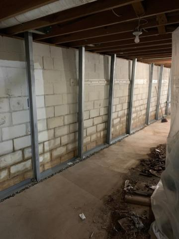 Nathalie, VA Wall Support & Basement Waterproofing