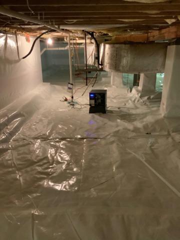 Spotsylvania, VA Crawl Space Encapsulation