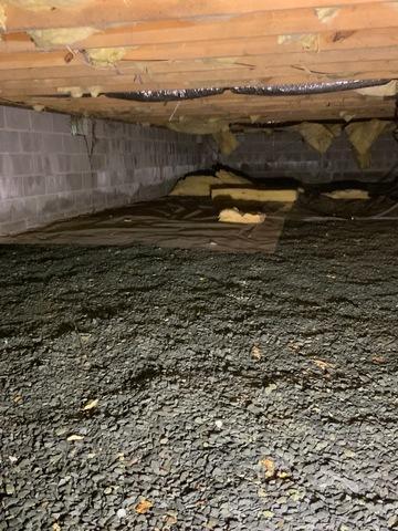 Palmyra, VA Crawlspace Encapsulation