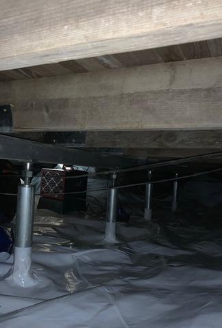 Charlotte Court House, VA Crawlspace Encapsulation and SmartJack Installation