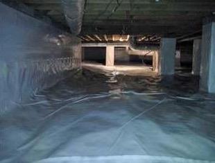 Natural Bridge Station, VA Complete Crawlspace Encapsulation
