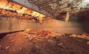 Wirtz, VA A Dry, Clean, And Energy Efficient Crawlspace