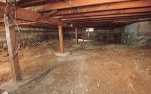 Thaxton, VA Energy Efficient Crawlspace And Basement