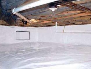 Unionville, VA No More Crawlspace Moisture! No More Mold!