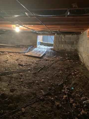 Salem, VA Crawlspace Waterproofing