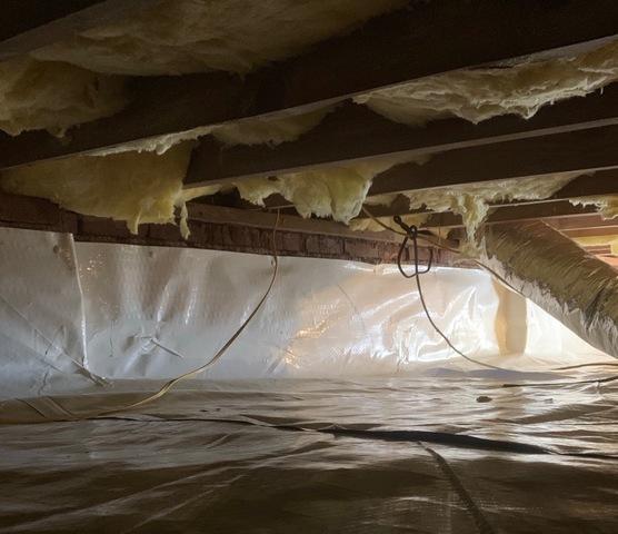 Appomattox, VA Crawlspace Encapsulation