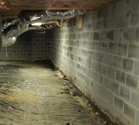 Waynesboro, VA Crawlspace Encapsulation