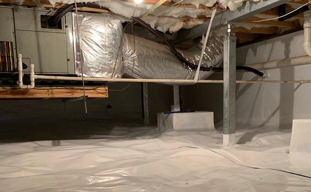 Huddleston, VA Crawl Space Encapsulation