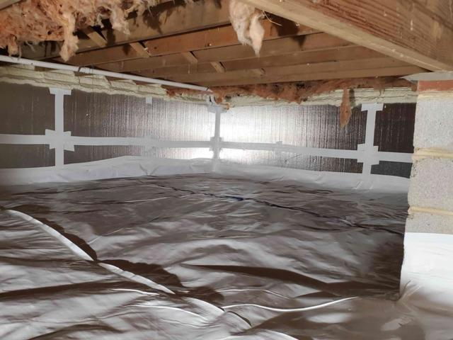 Crawl space Encapsulation in Rockville, MD - After Photo