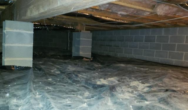 Fort Defiance, VA Crawl Space Encapsulation