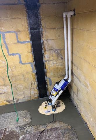Harrisonburg, VA Basement Waterproofing & Bowing Wall Repair