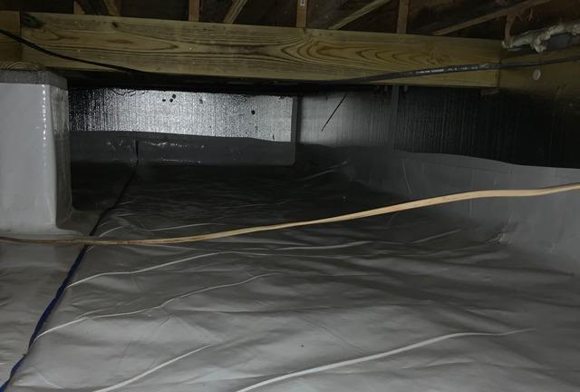 Lyndhurst, VA Crawl Space Encapsulation