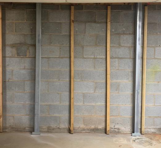 Concord, VA Bowing Wall Repair