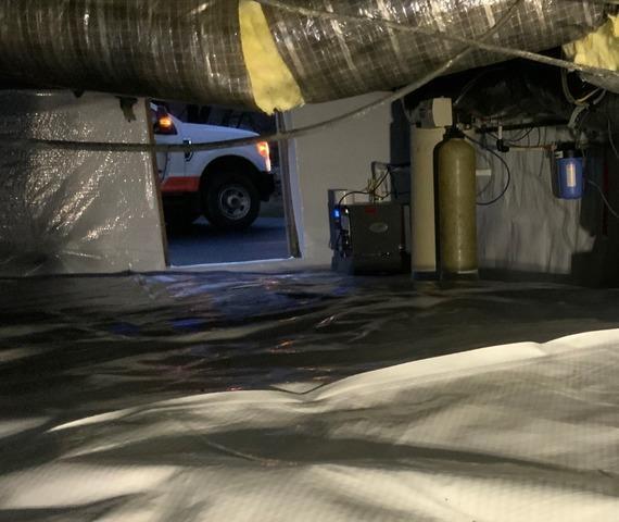 Swoope, VA Crawl Space Encapsulation