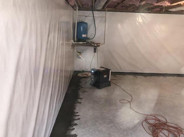 Germantown, MD Basement Waterproofing and Water Moisture Issues