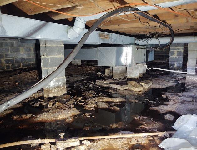 Collinsville, VA Crawlspace Encapsulation