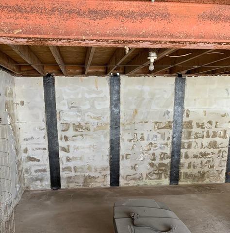 Charlottesville, VA Bowing Wall Repair