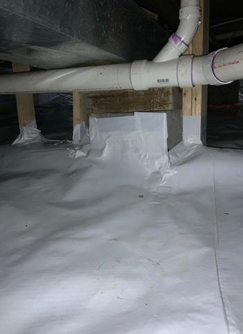 Scottsville, VA Crawlspace Encapsulation