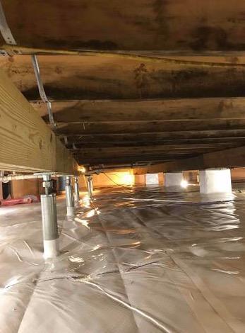 Barton, MD Crawlspace and Foundation Repair