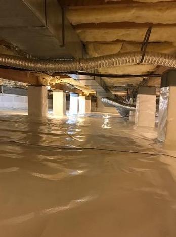 Big Pool, MD Crawlspace Waterproofing