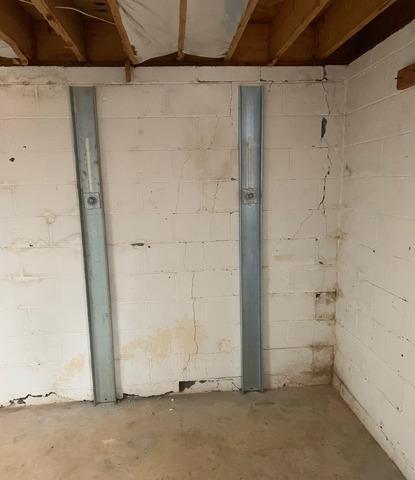 Lynchburg, VA Bowing Wall Repair