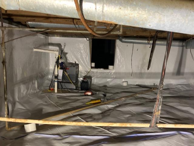 Crawlspace Encapsulation - Collinsville, VA