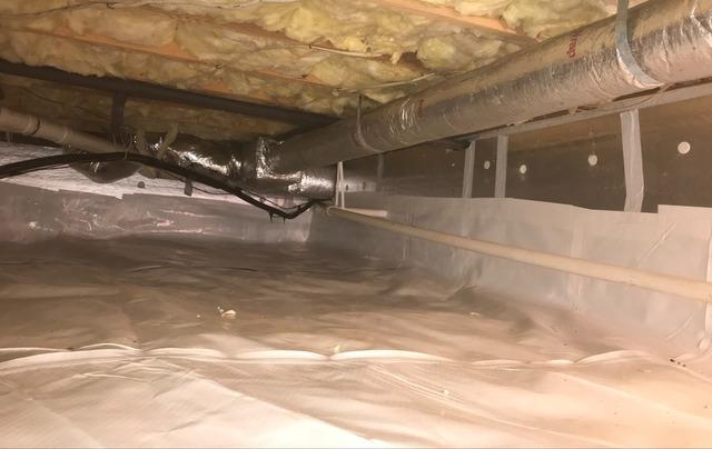 Crozet, VA Crawl Space Encapsulation