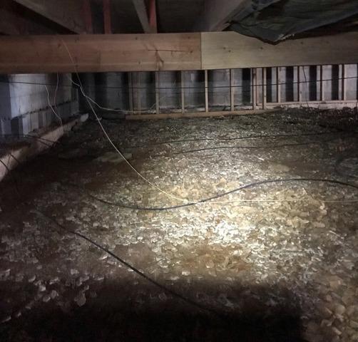 Shenandoah, VA Crawl Space Encapsulation & Sagging Floors